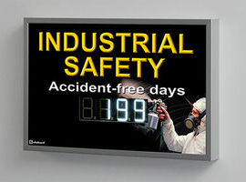 Visualizadores digitales para seguridad industrial | Serie XC630